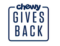 chewy gives back logo