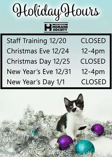 Holiday Hours 2016 w450